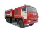 Автомобиль пенного тушения АПТ 8,0 на базе КАМАЗ-65111