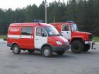 Автомобиль пожарный штабной АШ-5 на базе ГАЗ-270527