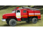 Автоцистерна пожарная АЦ 3,0 на базе УРАЛ-43206