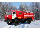 Автомобиль пенного тушения АПТ 3,0 на базе КАМАЗ-43502