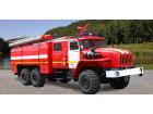 Автомобиль пенного тушения АПТ 7,0 на базе УРАЛ-4320