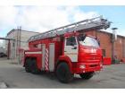 Автоцистерна пожарная с лестницей АЦЛ 4,0-40/30 (43118)