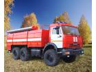 Пожарная насосная станция ПНС 110 на базе КАМАЗ-5350